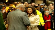 Harrods winter sale opens / Eva Longoria attends opening ceremony / general views of shoppers hunting for sales bargains * * BEWARE Back view of...