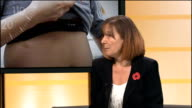 Harrow council tackles obesity in primary schools ENGLAND London GIR INT Hilary O'Byrne LIVE STUDIO interview SOT
