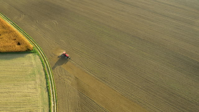 AERIAL Harrowing The Field
