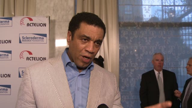 "INTERVIEW Harry Lennix on the event meeting Bob Saget at a prior Scleroderma event at ""Cool Comedy / Hot Cuisine"" An Evening Benefitting the..."
