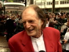 'Harry Potter and the Order of the Phoenix' Interviews with cast David Bradley interview SOT I haven't seen the movie yet / People see Filch as evil...