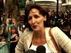 'Harry Potter and the Order of the Phoenix' Interviews with cast Fiona Shaw interview SOT He is a lovely young man / He will go to drama school / He...