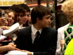 'Harry Potter and the Order of the Phoenix' Interviews with cast More of Radcliffe signing autographs
