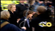 Harry Potter star Daniel Radcliffe takes his first stage role in production of 'Equus' R04110106/ITN London EXT SEQUENCE showing montage of Daniel...