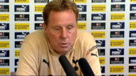 Harry Redknapp unveiled as new Tottenham manager/ Tottenham players training Harry Redknapp press conference continued SOT Ledley King is a key...