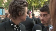 INTERVIEW Harry Styles Zayn Malik Liam Payne Louis Tomlinson Niall Horan Morgan Spurlock on being at the premiere the atmosphere the film at 'This Is...