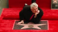 Harvey Fierstein at Hollywood Walk Of Fame on April 11 2016 in Hollywood California