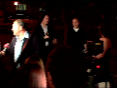 Harvey Weinstein and Georgina Chapman at the 2006 Tribeca Film Festival Vanity Fair Party at State Supreme Courthouse in New York New York on April...