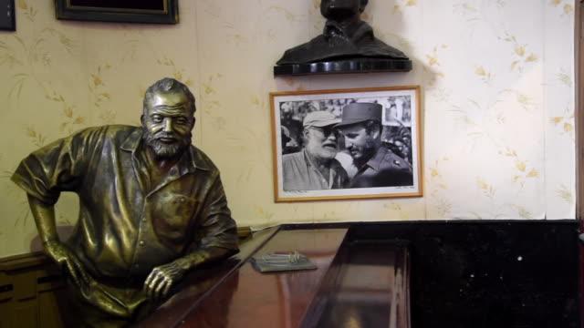 Havana, Cuba: 'El Floridita', indoors at the famous tourist attraction in Old Havana