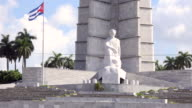 Havana, Cuba: Jose Marti memorial at the Revolution Square. The famous place is a major tourist attraction in the capital city of the Caribbean island