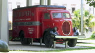 Havana,Cuba: Revolution Museum Outdoors Areas, truck used on the assault of Radio Station