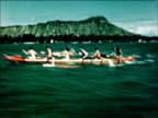 1950 Hawaii beach fun