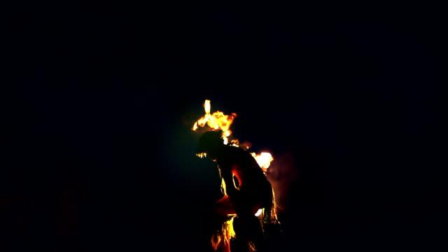 Hawaii Maui Fire Dancer- HD