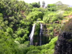 Hawaii: Opaekaa Falls Waterfall, Kauai