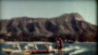 Hawaii Surfen den 1940 er Jahren