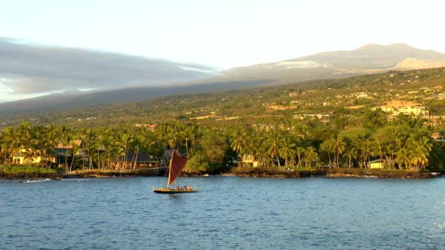 Hawaiian Outrigger Canoe - Kailua-Kona, Hawaii