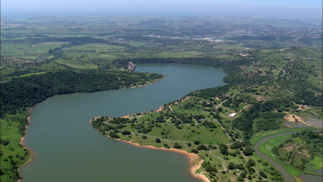 Hazelmere Dam Nature Reserve  - Aerial View - KwaZulu-Natal,  eThekwini Metropolitan Municipality,  Ethekwini,  South Africa