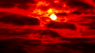 HD: wunderschönen Sonnenuntergang