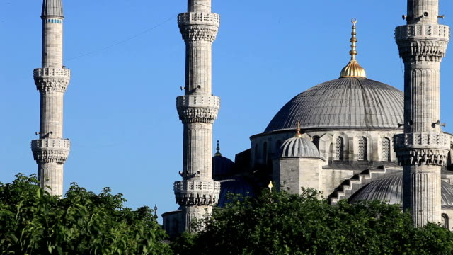 HD:Blue Mosque (Sultan Ahmet Camii), Istanbul, TURKEY