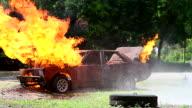 HD:Burning Car.