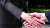 HD:Business handshake.