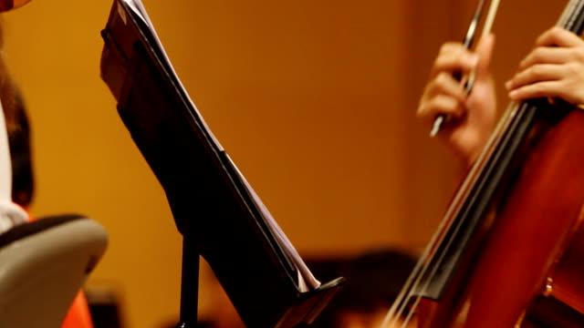 HD:Close-up musical notes sheet.
