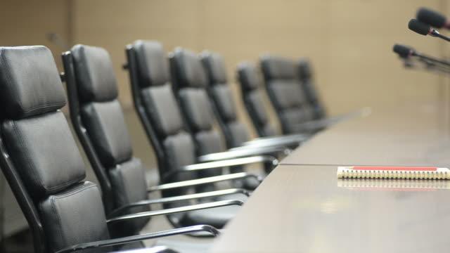 HD: Sala conferenze moderno ufficio con Blocco note