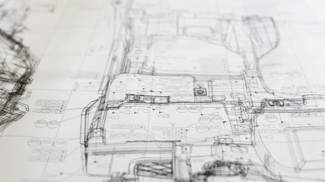 HD: Dolly Schwenken blueprint Arbeit.