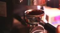 HD:Espresso Coffee making.(with sound)