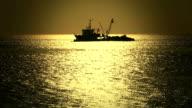 HD:Fishing boat, istanbul, TURKEY