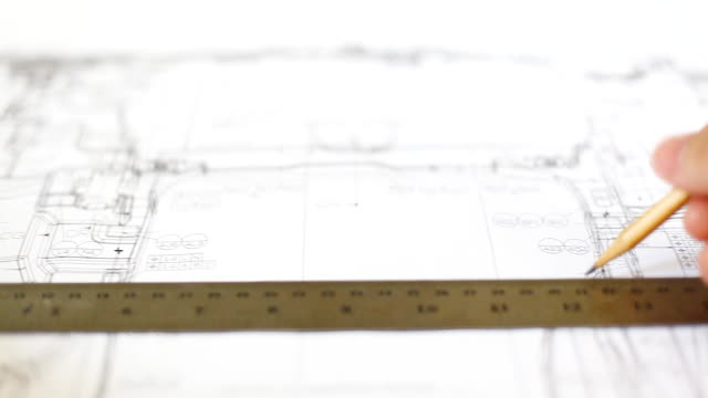 HD:Hand checking blueprint work.