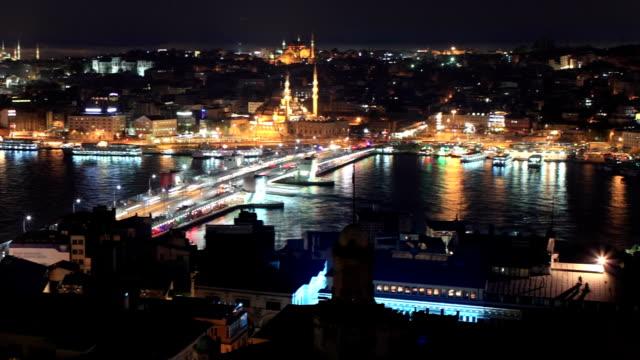 HD:Panoramic Istanbul Scene **Time Lapse**