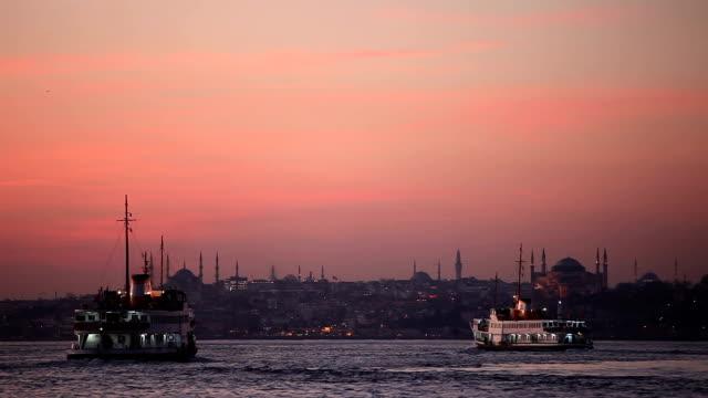 HD:Panoramic Istanbul Scene