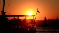 HD:Passanger Ship Istanbul TURKEY