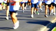 HD:People running in marathon.