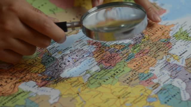HD: la Scandinavia focus per destinazione sulla mappa