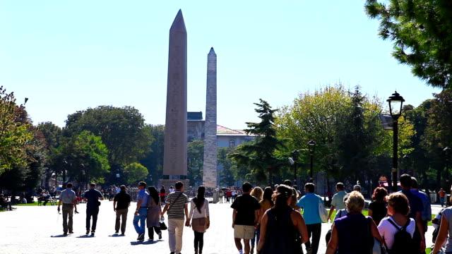 HD: der Obelisk des Theodosius, Istanbul, Türkei