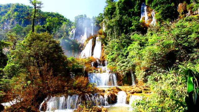 HD:Thi Lor Su Biggest waterfall in thailand.