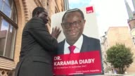 He had been beaten up received death threats and hundreds of insulting emails but Karamba Diaby is not one to give up