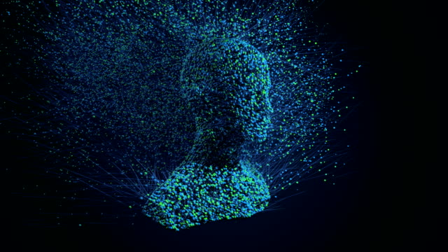 Head 3D particles creation