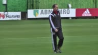 Head coach Frank de Boer of Ajax leads a training session at De Toekomst Sport Complex in Amsterdam Netherlands on November 04 ahead of the UEFA...
