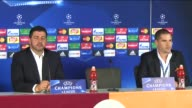 Head coach Rui Vitoria of Benfica holds a press conference after UEFA Champions League Group C football match with Galatasaray at Turk Telekom Arena...