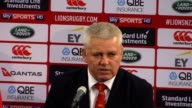 Head coach Warren Gatland and captain Peter O'Mahony look back on the British and Irish Lions' defeat to New Zealand