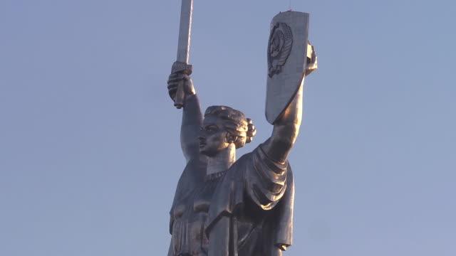 CU Head of woman statue
