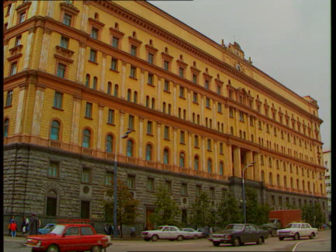 MI6 head revealed by PM R02109113 ITN Moscow LAGV KGB headquarters LAGV Ditto LAMS Ditto C22019292 ITN ENGLAND London GV New MI6 headquarters under...