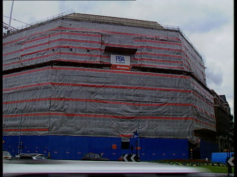 MI6 head revealed by Prime Minister EXT New MI5 headquarters under construction LAGV Ditto LAGV Ditto