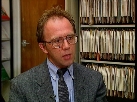 MI6 head revealed by Prime Minister INT London MS Andrew Puddephatt at box files on self in office TCS Box files marked 'Vetting' and 'State...