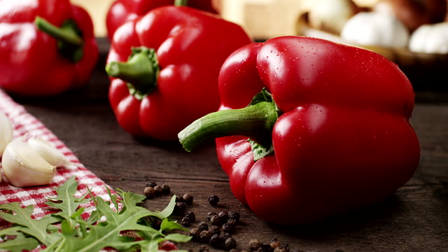 Healthy Organic Peppers
