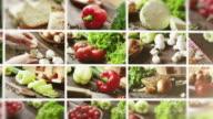 Sane organiche verdure