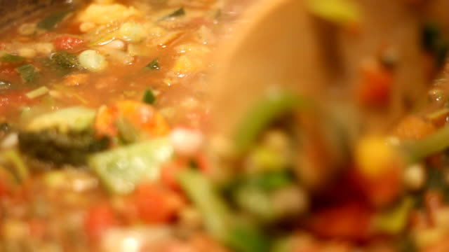 Healthy vegetable soup 2
